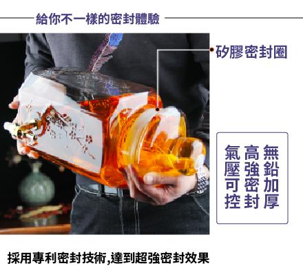 藥酒玻璃罐  藥酒瓶 藥酒罐 (圖3)